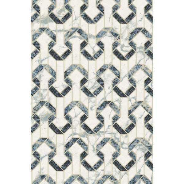 Covor lana Bara albastru deschis - 1