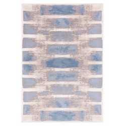 Covor lana Hajra albastru deschis - 1