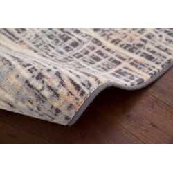 Covor lana Ruts multicolor cu linii - 2