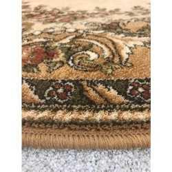Covor lana oval Dafne desert - 2