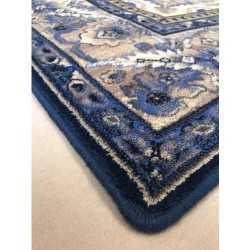 Covor lana Hathor albastru inchis - 3